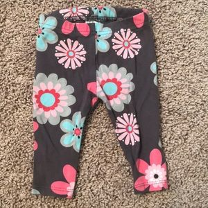 Carter/'s Toddler Girls/' TWO Pair Leggings Small Floral Print /& Faux Denim NWT